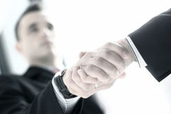 Image of a business handshake Stock Photos