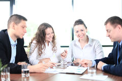 Image of business partners Royalty Free Stock Photo