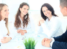 Image of business partners Royalty Free Stock Image