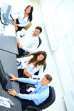Image of business partners sitting Stock Photo