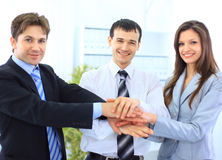 Image of business people hands Royalty Free Stock Image