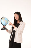 The image of business woman in Thailand Stock Photo