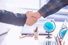 Image of businessmen Hand shaking. Stock Images
