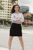 Image of a businesswoman with attitude Royalty Free Stock Photo