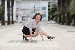 Image of a businesswoman posing Stock Photo