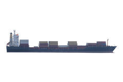 Image of a cargo ship Royalty Free Stock Images