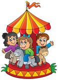 Image with carousel theme 1 Stock Photo