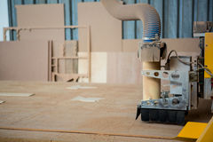 Image of carpenters machine Royalty Free Stock Images