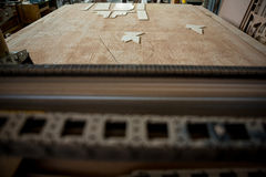 Image of carpenters work table Royalty Free Stock Image