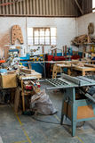 Image of carpenters workshop Royalty Free Stock Photography