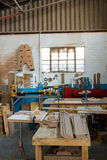 Image of carpenters workshop Stock Photography