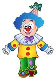 Image of cartoon clown 1 Royalty Free Stock Photos