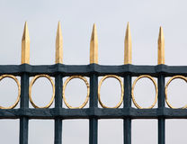 Image of cast iron fence Royalty Free Stock Photo