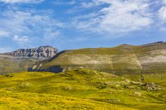 The Circus of Troumouse - Pyrenees Mountains Stock Images