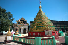 Image of a centuries old Myanmar Pagoda . Royalty Free Stock Photography