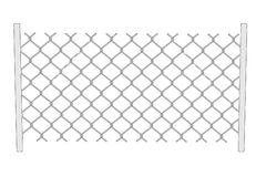 Image of chain fence Royalty Free Stock Image