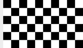 Image of checkered fabric cloth for the finish flag,. An image of checkered fabric cloth for the finish flag Stock Photo