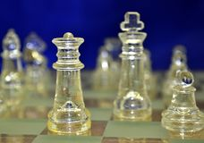 Chess board game Stock Photos