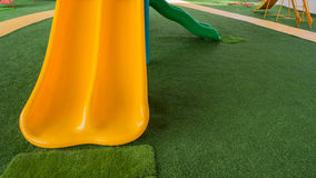 Image of children's playground at public park. Stock Photos
