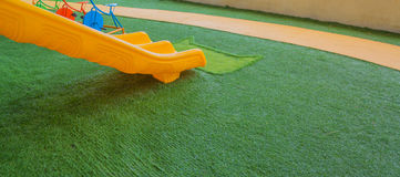 Image of children's playground at public park. Stock Images