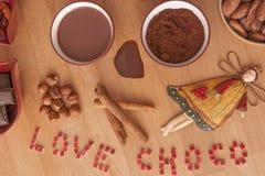 Time to chocolate Royalty Free Stock Photos