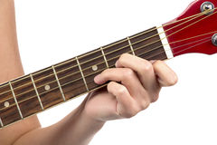 Image of chord guitar Royalty Free Stock Photography