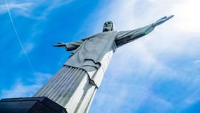 Image of Christ Rio de Janiero Brazil. Very much one of the main tourist attractions and points of interest in the area stock image