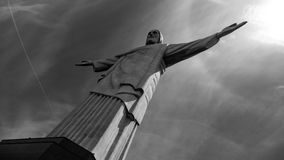 Image of Christ Rio de Janiero Brazil. Very much one of the main tourist attractions and points of interest in the area royalty free stock photos