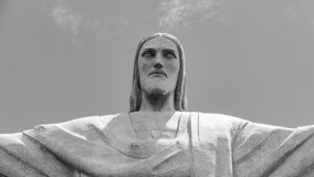 Image of Christ Rio de Janiero Brazil. Very much one of the main tourist attractions and points of interest in the area stock photo