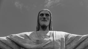 Image of Christ Rio de Janiero Brazil. Very much one of the main tourist attractions and points of interest in the area royalty free stock images