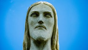Image of Christ Rio de Janiero Brazil. Very much one of the main tourist attractions and points of interest in the area royalty free stock image