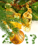 Image of Christmas decorations close up Royalty Free Stock Images