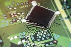 Image of the circuit board closeup.  stock image