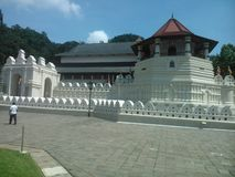 This image is city of kandy ,religion place of srilanka royalty free stock photos