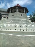 This image is city of kandy ,religion place of srilanka royalty free stock image