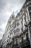 Image of the city of Madrid, its characteristic architecture Royalty Free Stock Photo