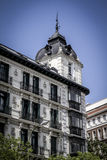 Image of the city of Madrid, its characteristic architecture Royalty Free Stock Photography