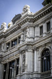 Image of the city of Madrid, its characteristic architecture Stock Photos