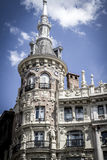 Image of the city of Madrid, its characteristic architecture Stock Photography