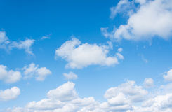 image of clear sky on day time . Royalty Free Stock Images