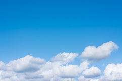 image of clear sky on day time . Stock Photo