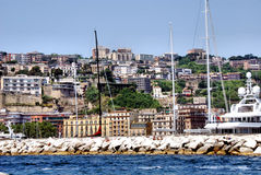Image of the cliffs of mergellina, Naples Stock Photo