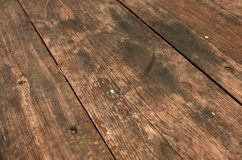 Wooden Table background Stock Images