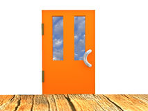 The image of the closed door Royalty Free Stock Image