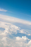 Image of clouds and blue sky Royalty Free Stock Photo