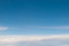Image of clouds and blue sky Royalty Free Stock Image