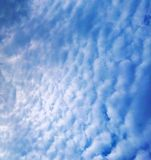Cloudy sky. Image of a cloudy sky Royalty Free Stock Photography