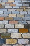 Image of cobble-stone. Background with the image of cobble-stone royalty free stock images