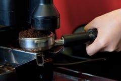 Coffee maker machine Stock Image
