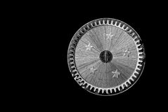 Image of a cogwheel from and old clockwork. Royalty Free Stock Photo